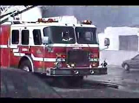 Wilmington,Delaware fire department multi alarm blaze at Diver Chevy