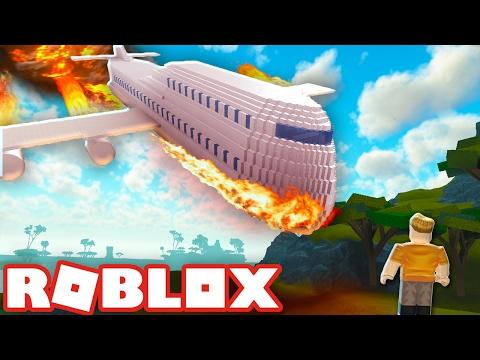 Roblox PLANE CRASH into Scary ISLAND