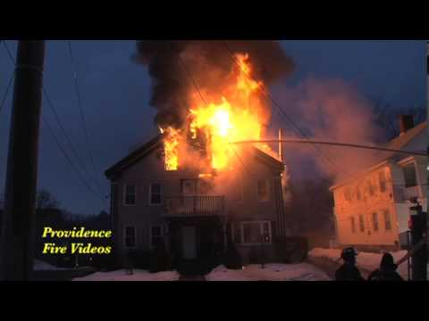 Wood stove pipe causes multi alarm fire in Blackstone, Ma