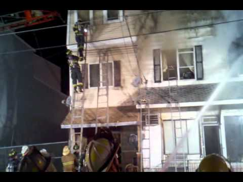 Girardville multiple alarm fire with ff rescue – 2/23/2011