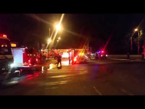 PFD Multiple Alarm Fire Response