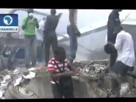 Lagos Dana Plane Crash in Nigeria – VIDEO