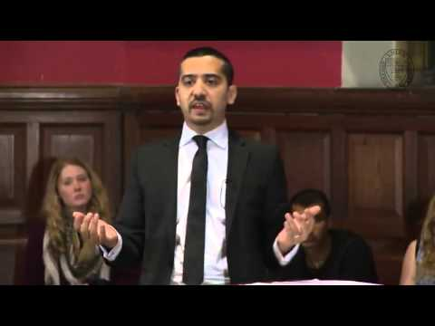 Debate about Islam and terrorism at Oxford University