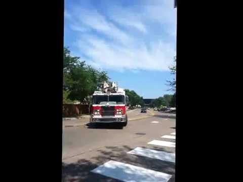 st. louis park 3 alarm fire response videos