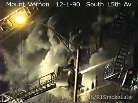 Mount Vernon, NY- Multiple Alarm Fire: 12-1-90