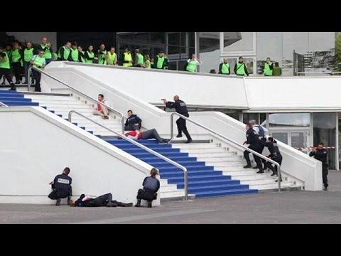 Terrorist attack simulation in Cannes before film festival