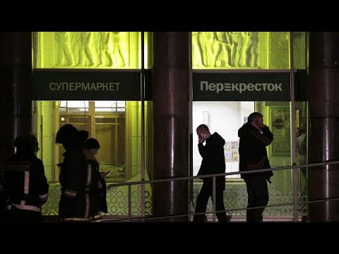 Putin: St Petersburg supermarket bombing 'an act of terrorism'