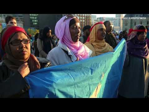 """Terrorism has no nationality"" Ottawa rallies for Mogadishu"