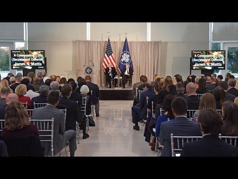 Secretary Mattis on Addressing Fragile States and Terrorism
