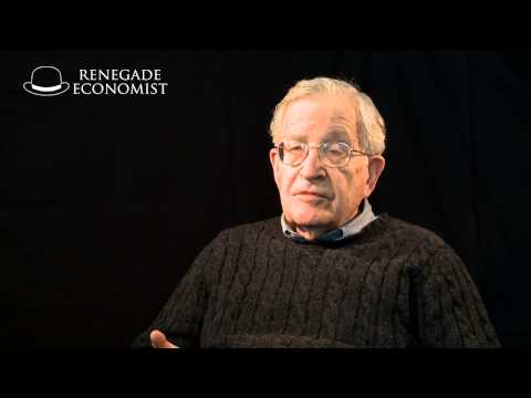 Prof Noam Chomsky – How to create a terrorist…