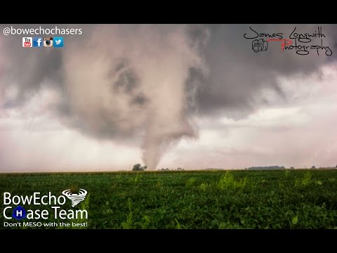 Multiple Tornadoes in Kokomo 8-24-16, Also struck by a tornado.