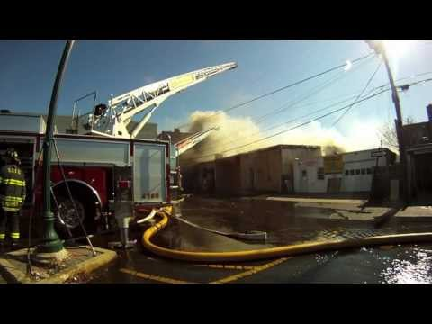 Brighton Ave. West End Long Branch Multiple Alarm Fire