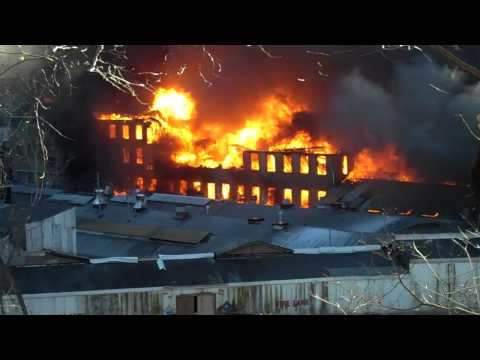 Cornwall Multi alarm fire 1-15-12 Part 2