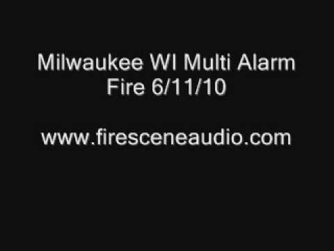 Milwaukee WI Multi Alarm Fire 6/11/10