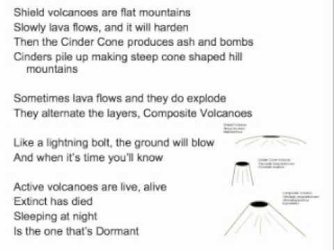 Volcanoes Song