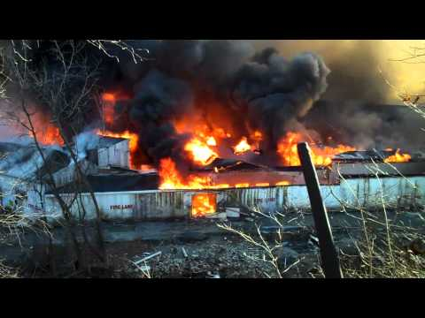 Cornwall Multi alarm fire 1-15-12 Part 3