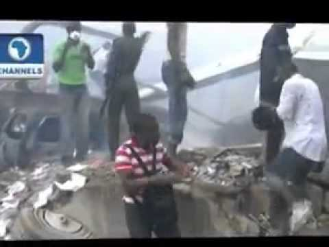 Lagos Dana Plane Crash in Nigeria – VIDEO