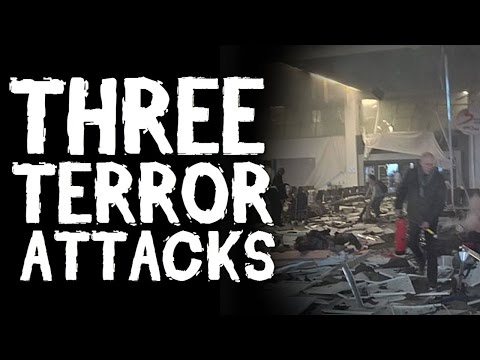 3 TERRORIST ATTACKS Caught On Tape