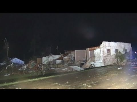 Georgia Tornadoes' Deadly Devastation Caught on Tape