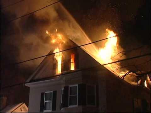 Stevens St Methuen multi alarm fire