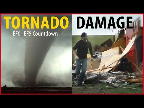 Tornado Damage Countdown: EF0 – EF5