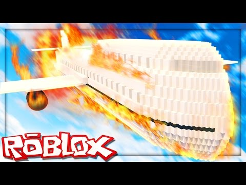 Roblox Adventures – SURVIVE A PLANE CRASH IN ROBLOX! (Survive a Plane Crash into an Island)