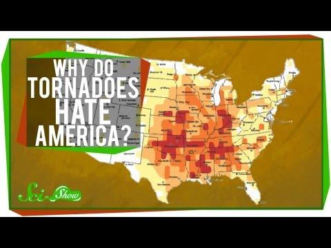 Why Do Tornadoes Hate America?