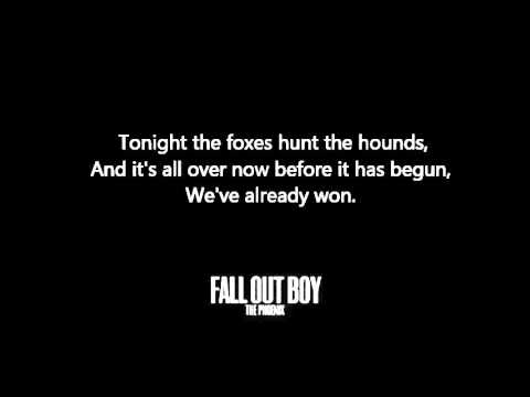 Young Volcanoes Lyrics – Fall Out Boy (HD&HQ)