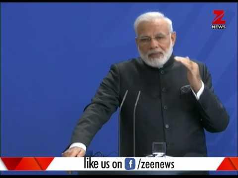 Mission Europe: PM Modi slams terrorism in Germany| जर्मनी में प्रधानमंत्री मोदी का आतंकवाद पर हमला