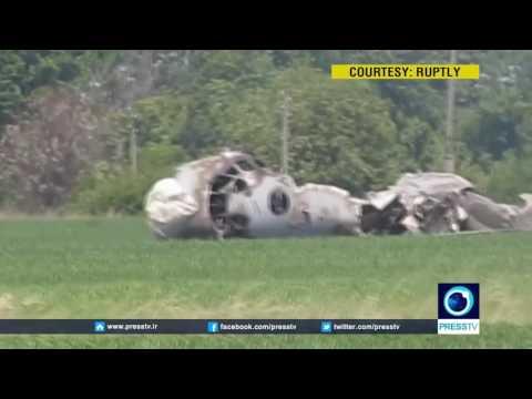 1 dead, 4 injured in military plane crash at Balashov airbase