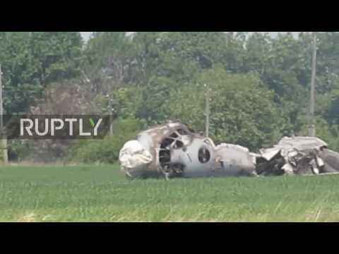 Russia: 1 dead, 4 injured in military plane crash at Balashov airbase