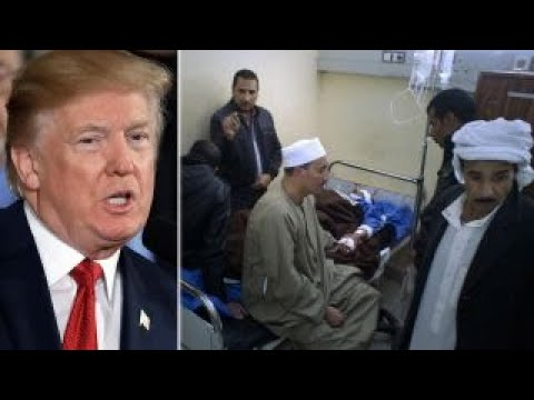 Trump talks tough on terrorism after Egypt mosque attack