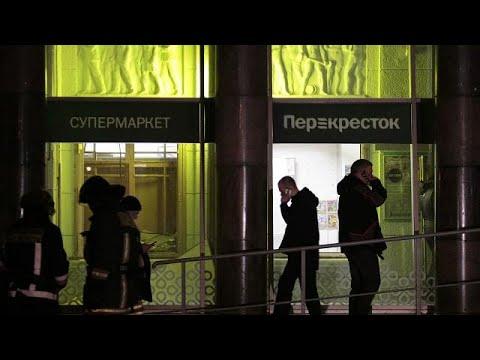 Putin: St Petersburg supermarket bombing 'an act of terrorism'