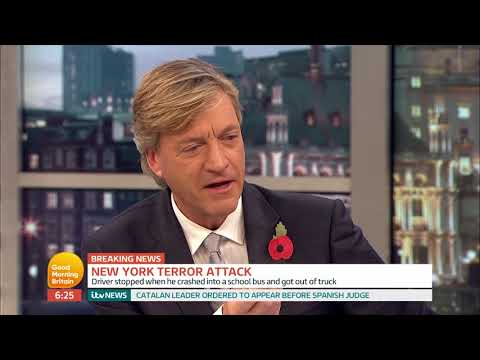Former Head of Counter Terrorism Comments on the New York Terror Attack | Good Morning Britain