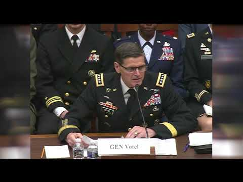 Centcom Commander Testifies on Terrorism, Iran Before House Committee