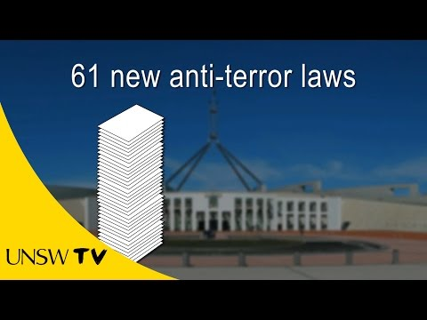 Anti-terrorism: The laws Australia enacted