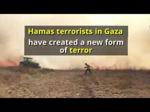 Hamas Arson Terrorism