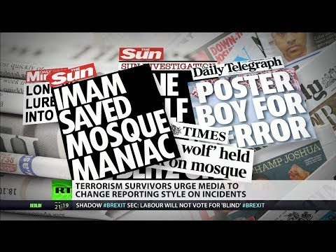 Terrorism survivors urge media to change reporting style on incidents