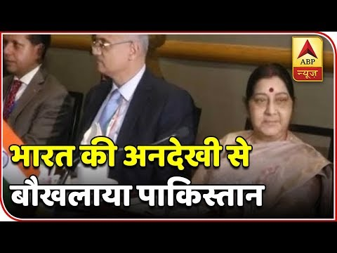 Master Stroke: Sushma Swaraj Warns Of Terrorism Threat At Saarc Meeting, Avoids Qureshi | ABP News