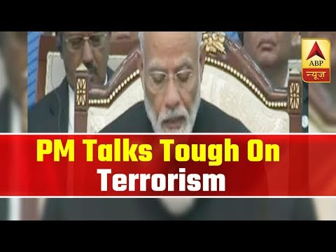 PM Modi Talks Tough On Terrorism In Front Of Imran Khan At SCO Summit | ABP News