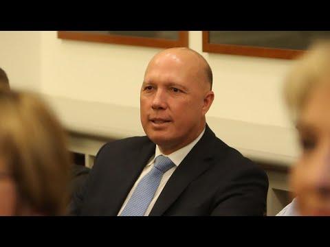 Dutton speaks up on Sydney counter-terrorism raids