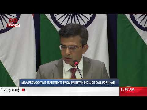 MEA: Pakistan has been using Terrorism as state policy