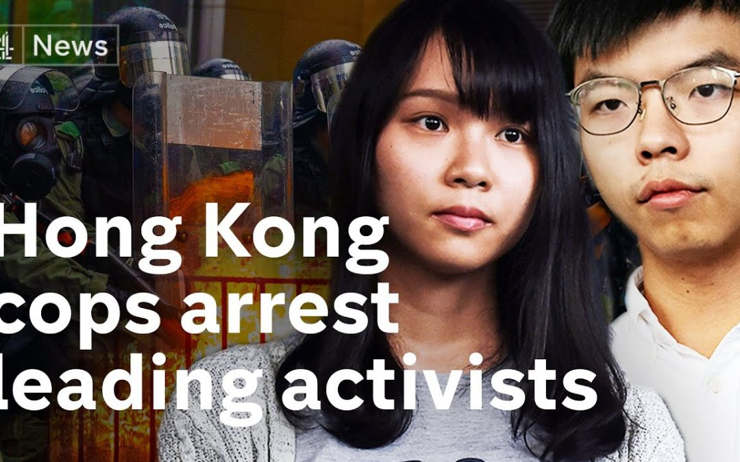 Hong Kong: Police crackdown on protest activists