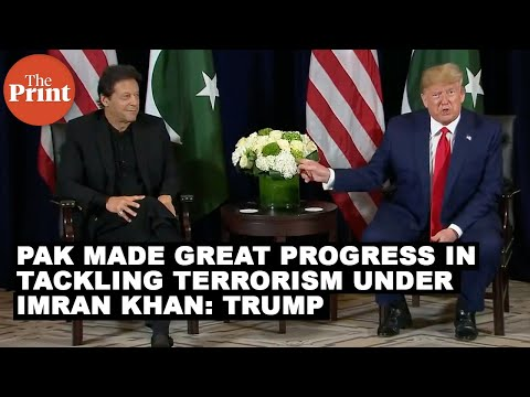 Donald Trump, Imran Khan meet to discuss Kashmir issue, terrorism FULL VIDEO
