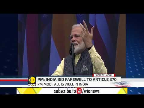 Howdy Modi Event: PM Modi slams Pakistan on terrorism