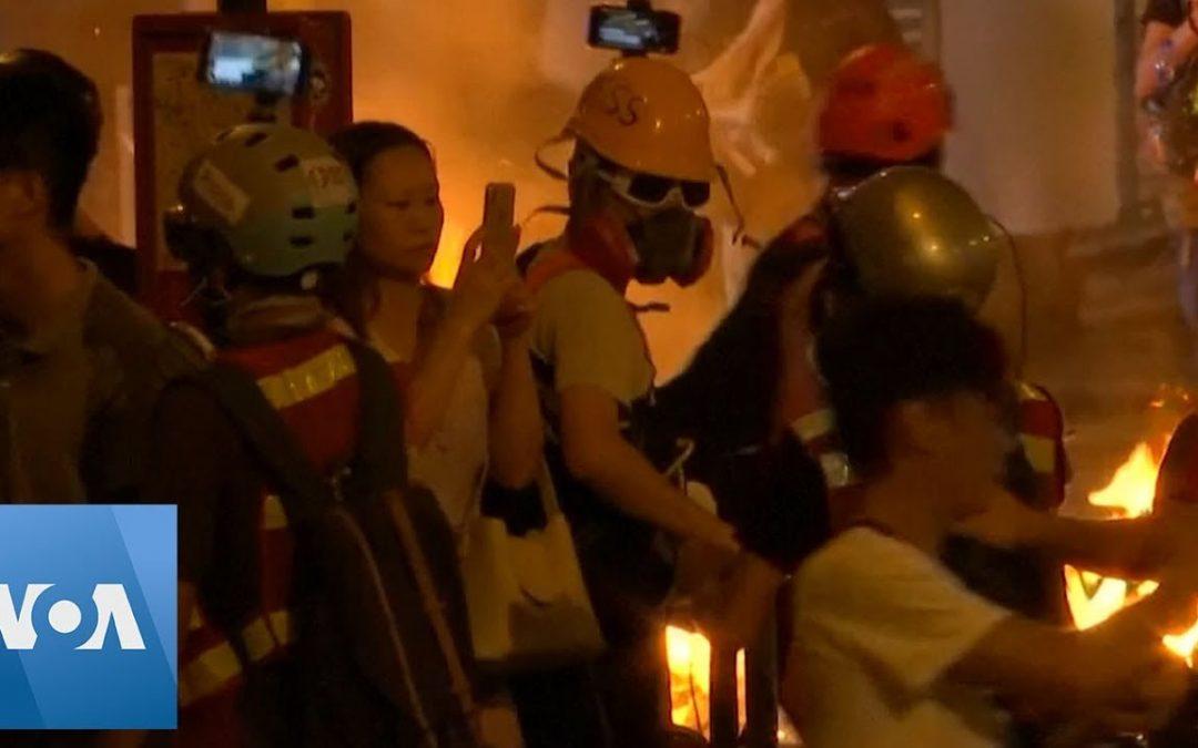 Hong Kong: Violence and Vandalism Sweep City