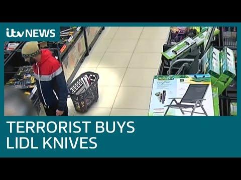London Bridge terrorist shopped at Lidl for knives before horrifying attack| ITV News