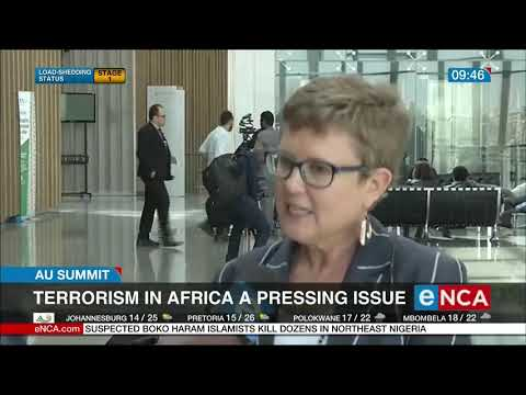 Terrorism in Africa a pressure issue