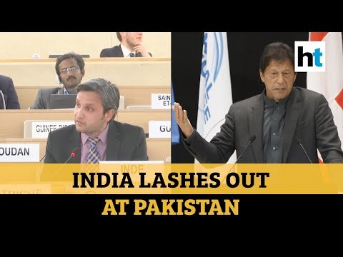 'Cradle of global terrorism:' India slams Pakistan over J&K issue at UNHRC