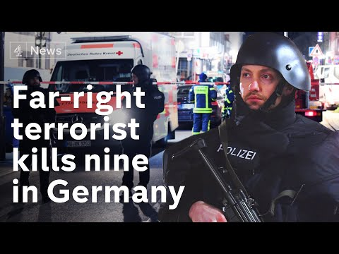Far-right terrorist kills nine in Germany shooting